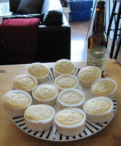 Dogfish Head 60 Minute IPA Cupcakes
