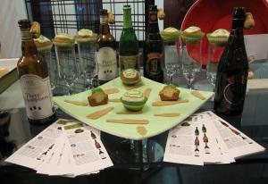 Belgian Tripples Cupcake Display