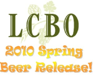 LCBO Spring Release